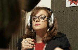 Nilda Garré visitó los estudios de Radio Caput